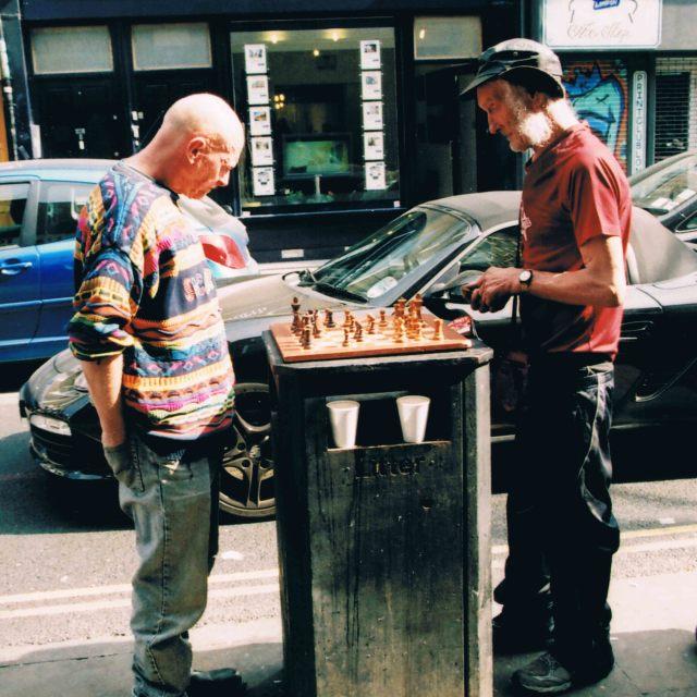 """Street Chess"" stock image"