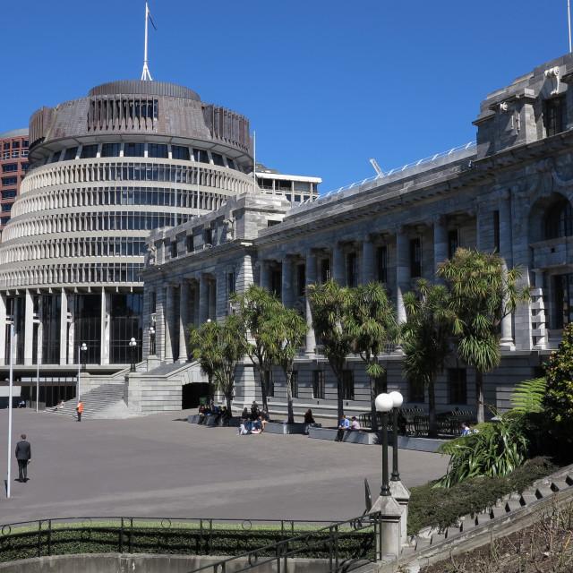 """Parliament buildings"" stock image"