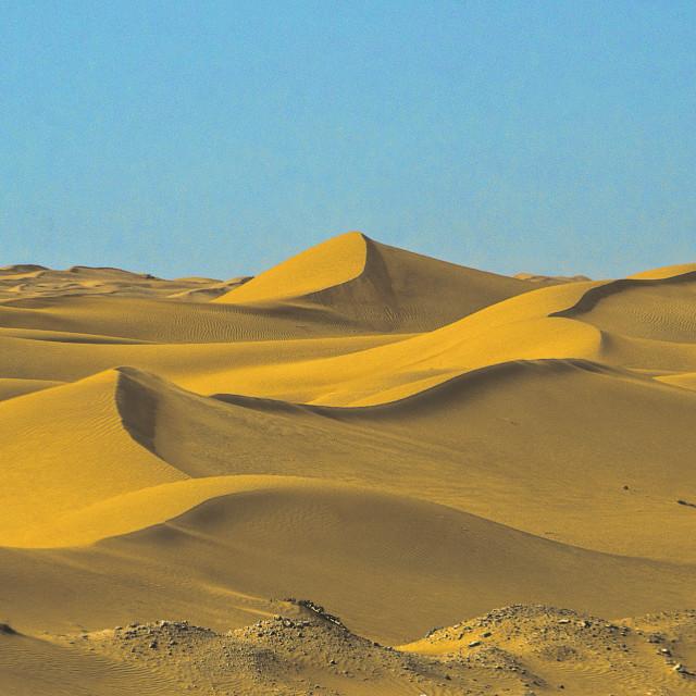 """Dubai Desert view"" stock image"