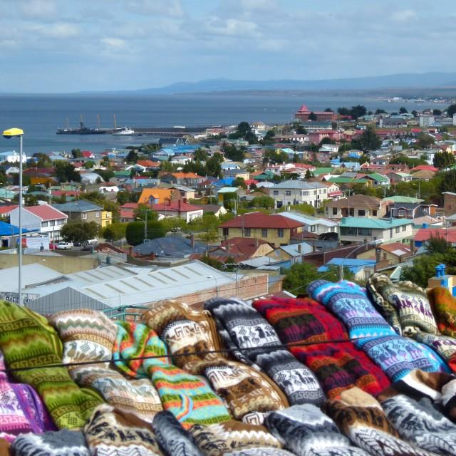 """""""Punta Arenas, Chile"""" stock image"""
