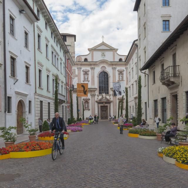 """Trento - Book Festival"" stock image"