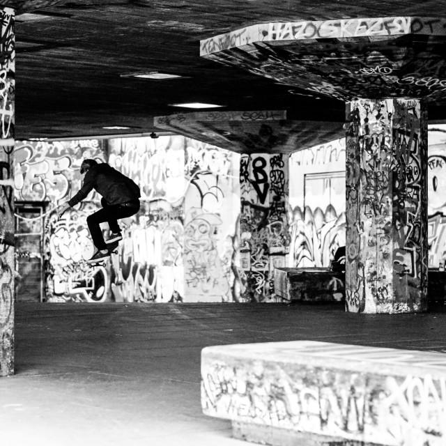 """Southbank Skate 2"" stock image"