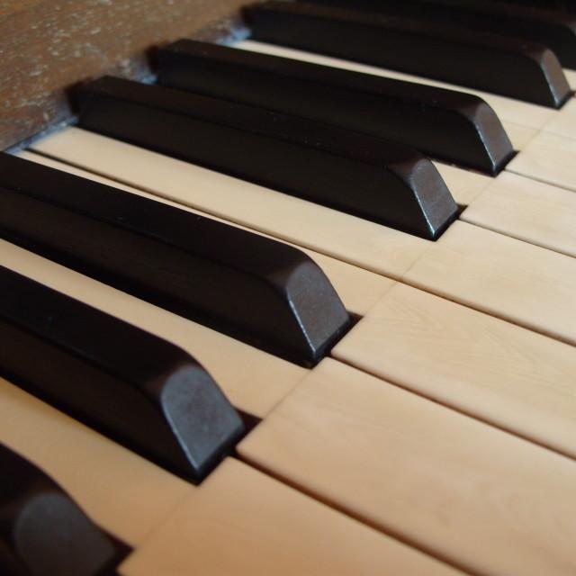 """Piano keyboard"" stock image"
