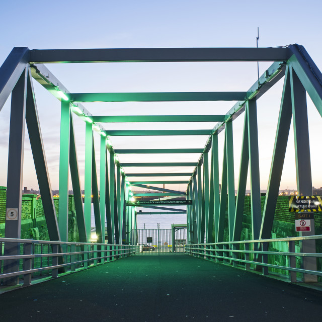 """Green Bridge 1"" stock image"