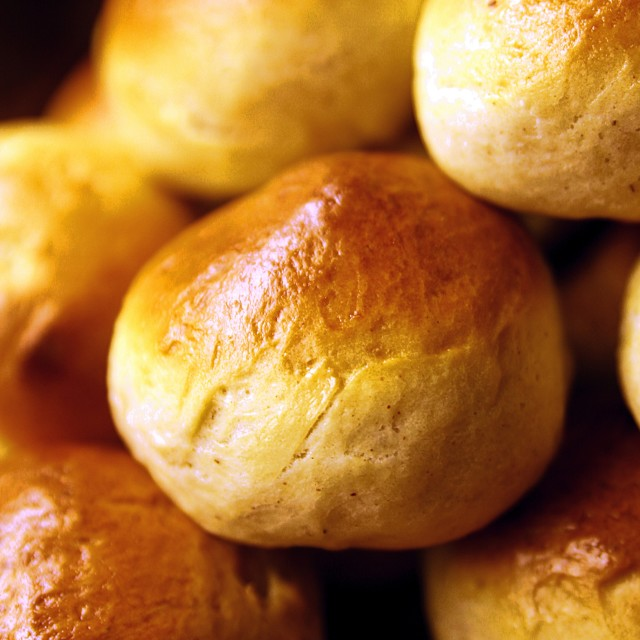 """Freshly baked buns"" stock image"