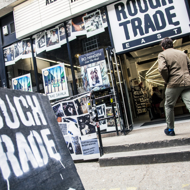 """Rough Trade"" stock image"