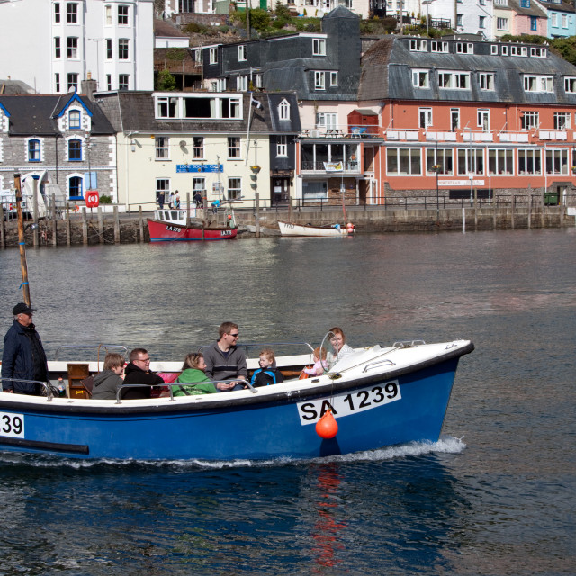 """Cornish Water Taxi"" stock image"