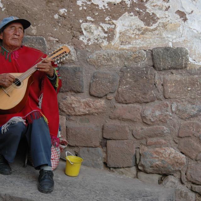 """Peruvian serenade"" stock image"