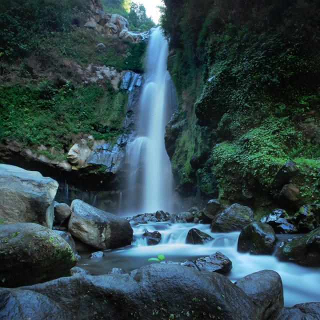 """Kedung Kayang Waterfall"" stock image"