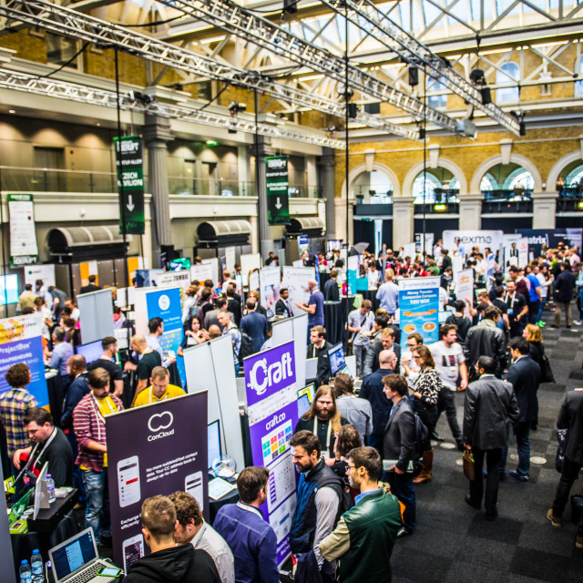 """TechCrunch Disrupt London"" stock image"