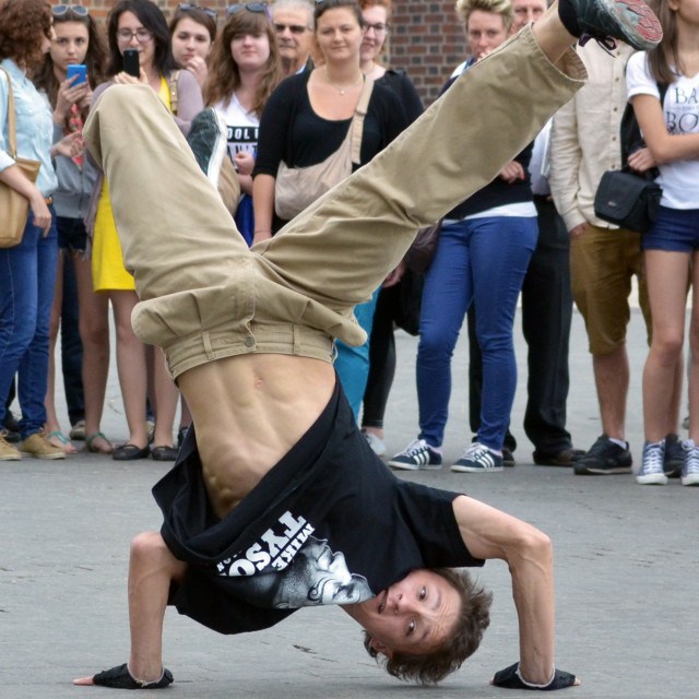 """Street Dancer"" stock image"