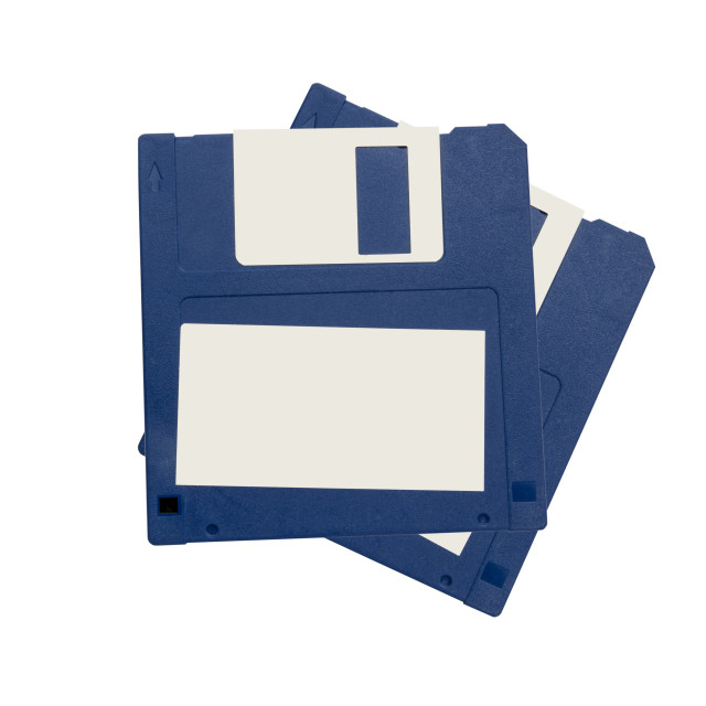 """Computer floppy disk"" stock image"