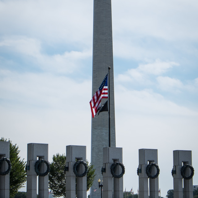 """Washington Monument"" stock image"