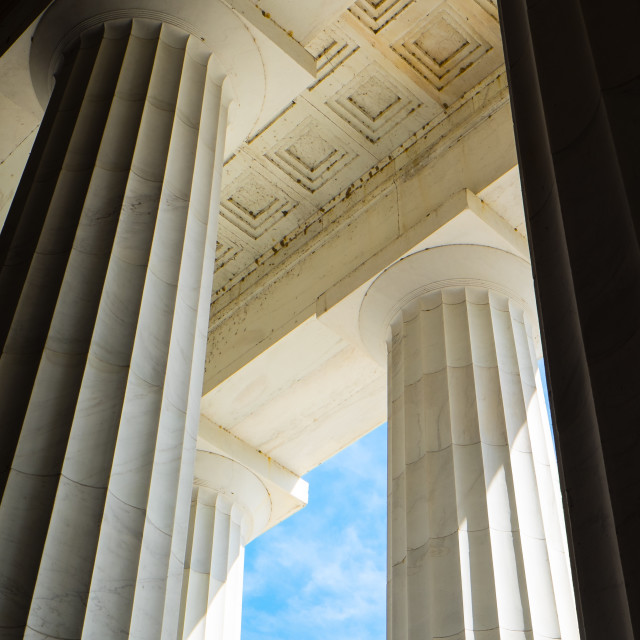 """Doric Architecture"" stock image"