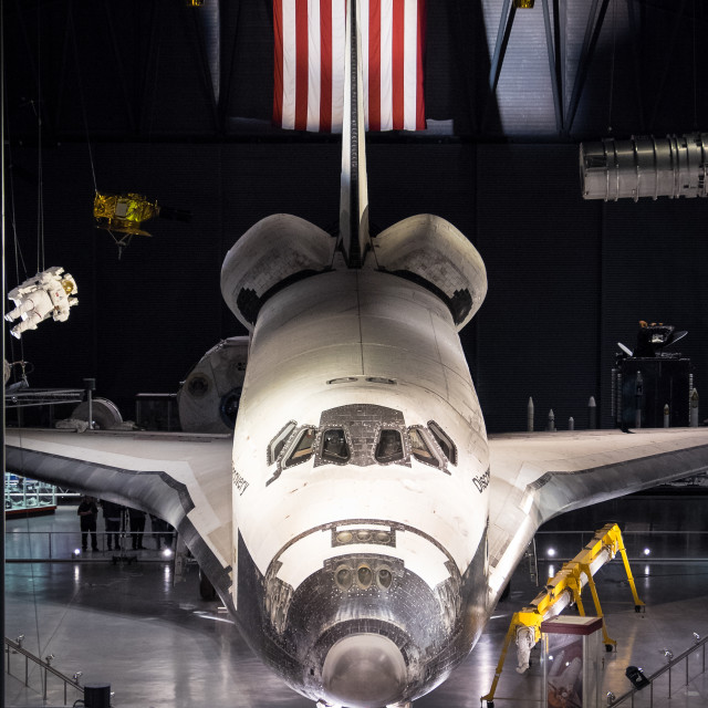 """Space Shuttle Discovery"" stock image"