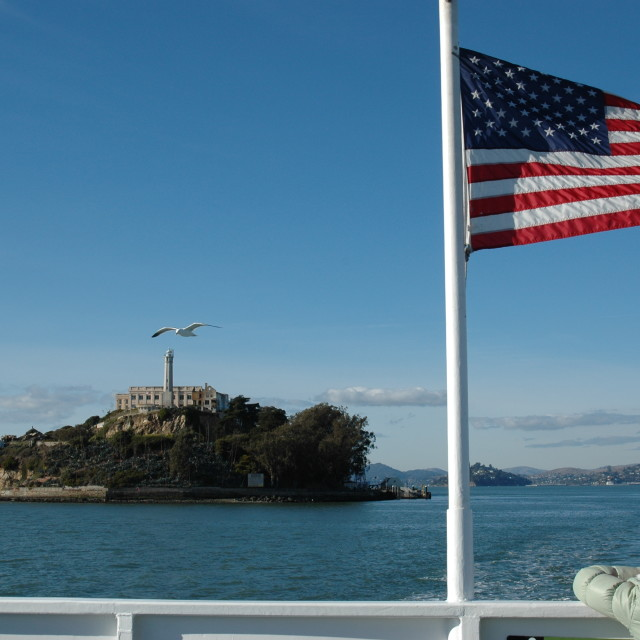 """Escape from Alcatraz"" stock image"
