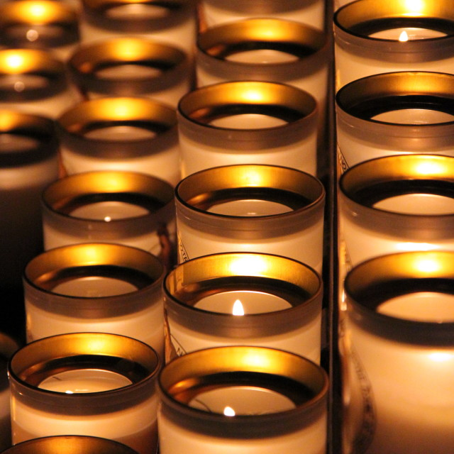 """""""Group of candles"""" stock image"""