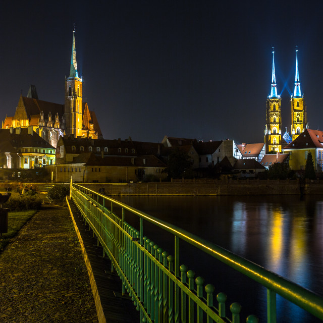 """Cathedral of St. John the Baptist of Wroclaw"" stock image"