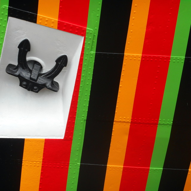 """Dazzle Ship"" stock image"