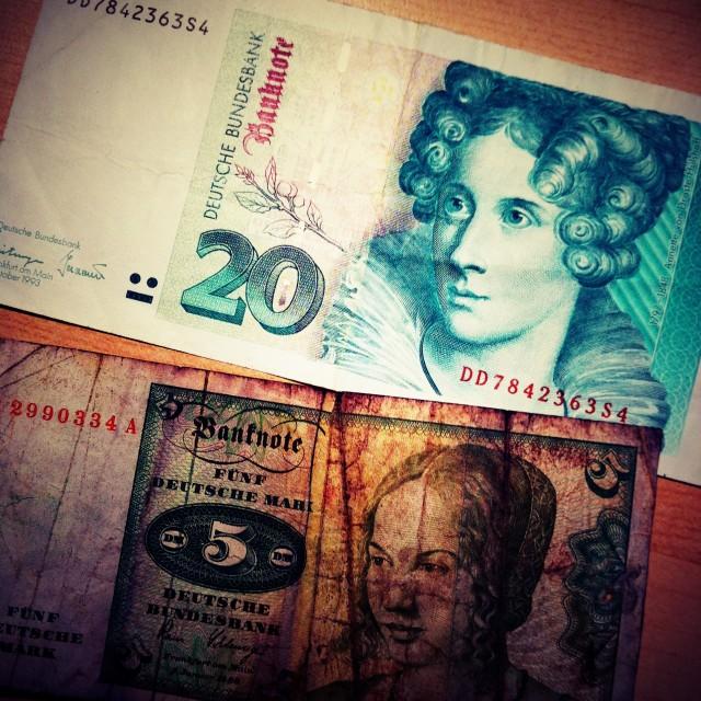 """Old Money"" stock image"