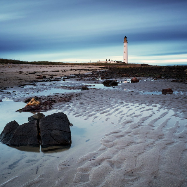 """Morning at Barns Ness"" stock image"
