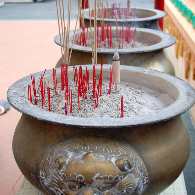 """""""Incense Urns"""" stock image"""