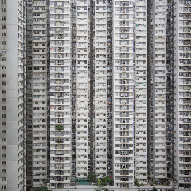 """Hong Kong apartments"" stock image"