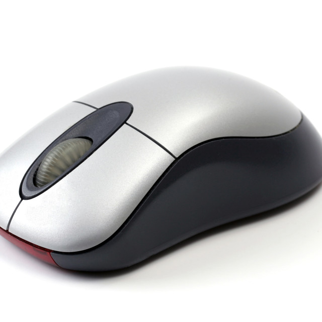 """""""Wireless Comoputer Mouse"""" stock image"""