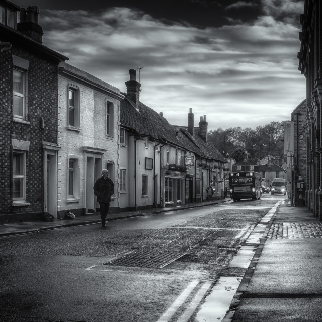 """English Road"" stock image"