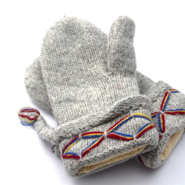 """Warm gloves"" stock image"