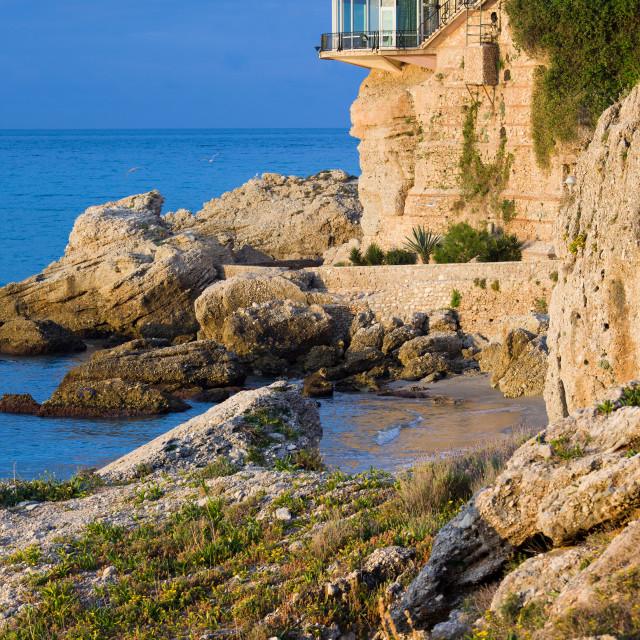"""""""Costa del Sol in Spain"""" stock image"""