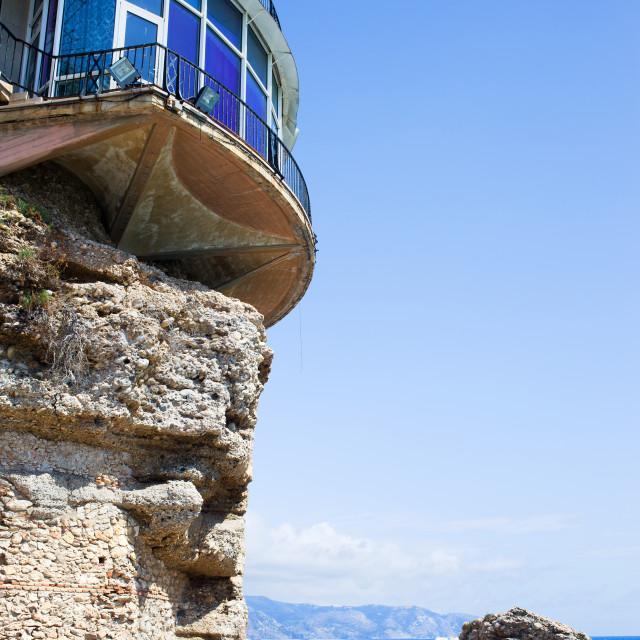 """""""Balcon de Europa in Nerja"""" stock image"""
