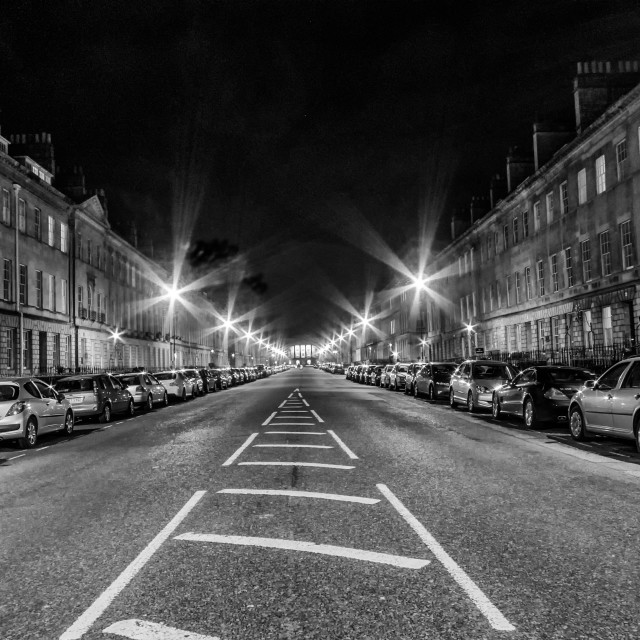 """Great Pulteney Street"" stock image"