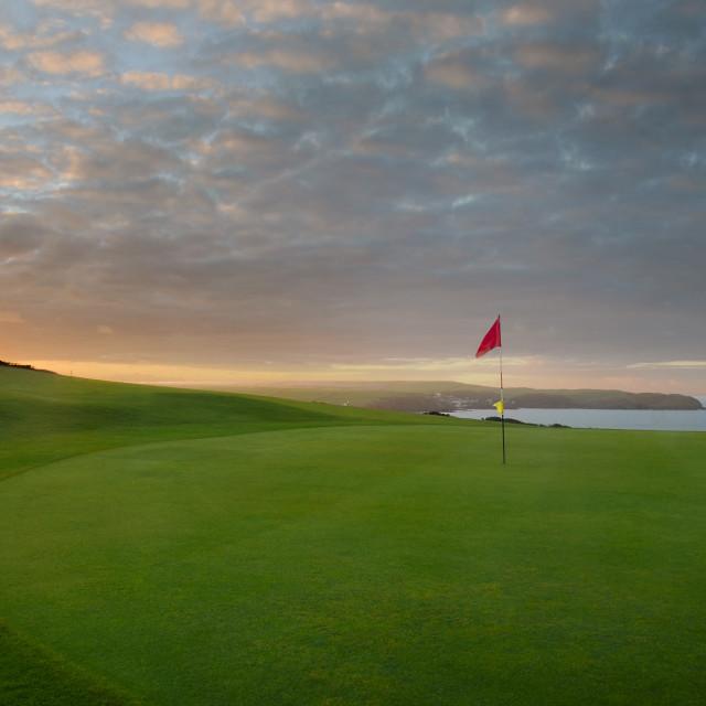 """thurlestone golf course"" stock image"