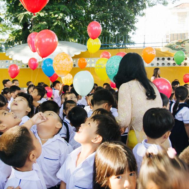 """New school day"" stock image"