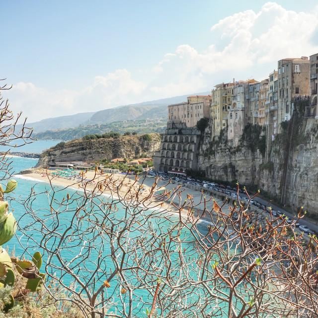 """""""Tropea, Calabria"""" stock image"""