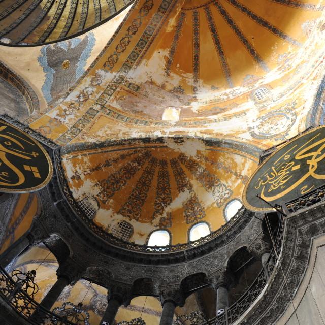"""Inside Higia Sophia 2"" stock image"