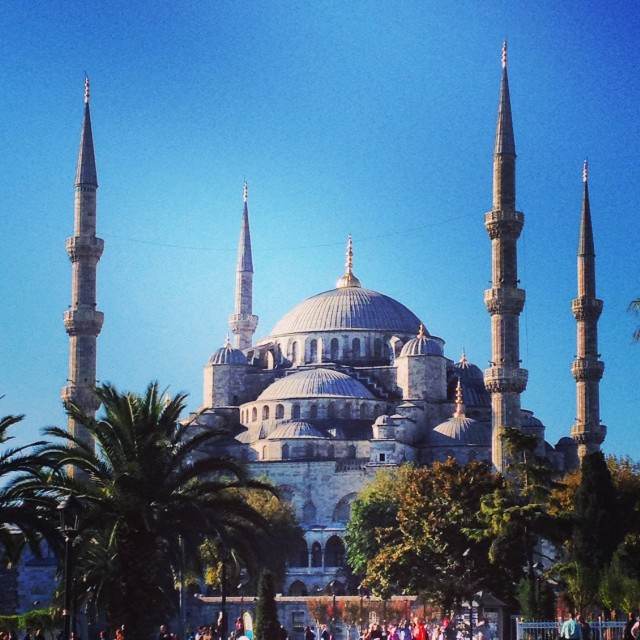 """Blue Mosque"" stock image"