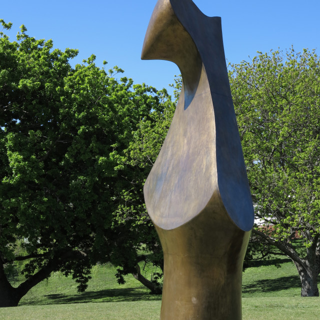 """Henry Moore sculpture"" stock image"