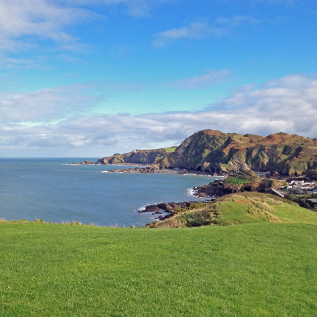 """The view from Ilfracombe"" stock image"