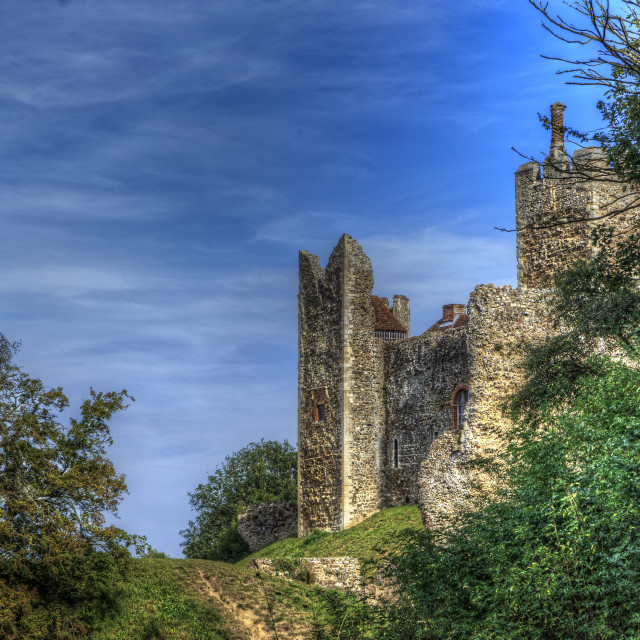 """""""A Glimpse of Camelot"""" stock image"""