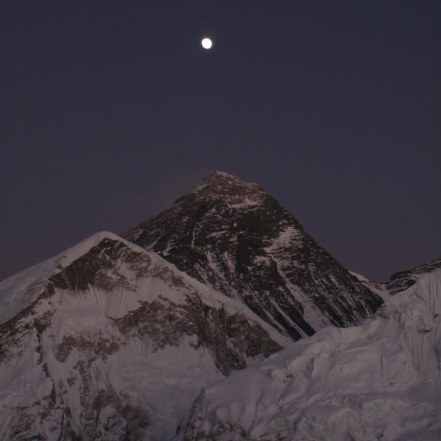 """""""Everest at sunrise"""" stock image"""