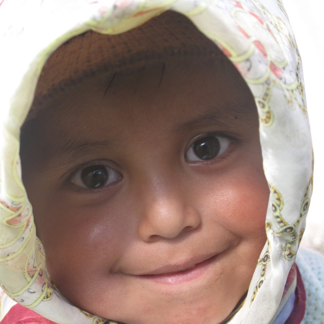 """Ecuador child"" stock image"