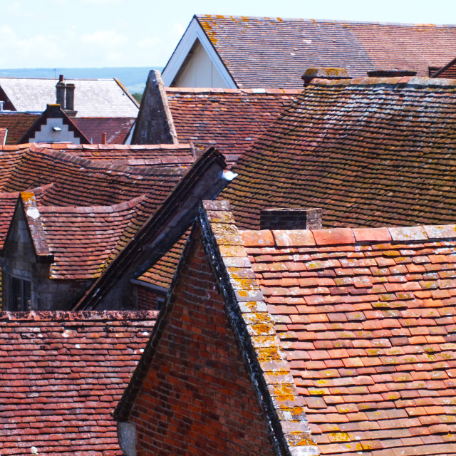 """""""Roof Tops"""" stock image"""