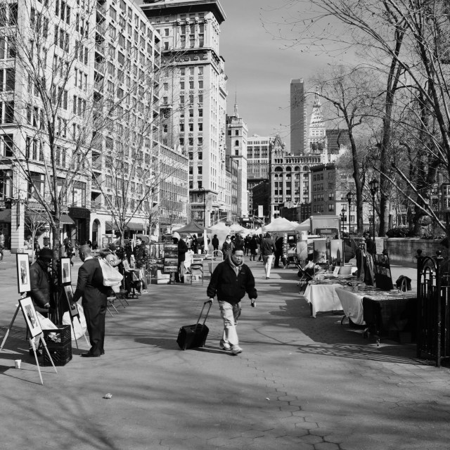 """Union Square"" stock image"