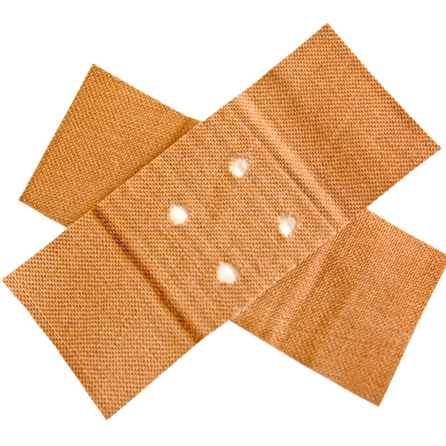 """Adhesive Bandage with Clipping Path"" stock image"