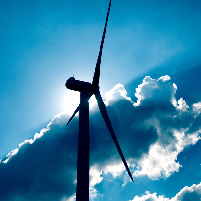 """Wind turbine"" stock image"