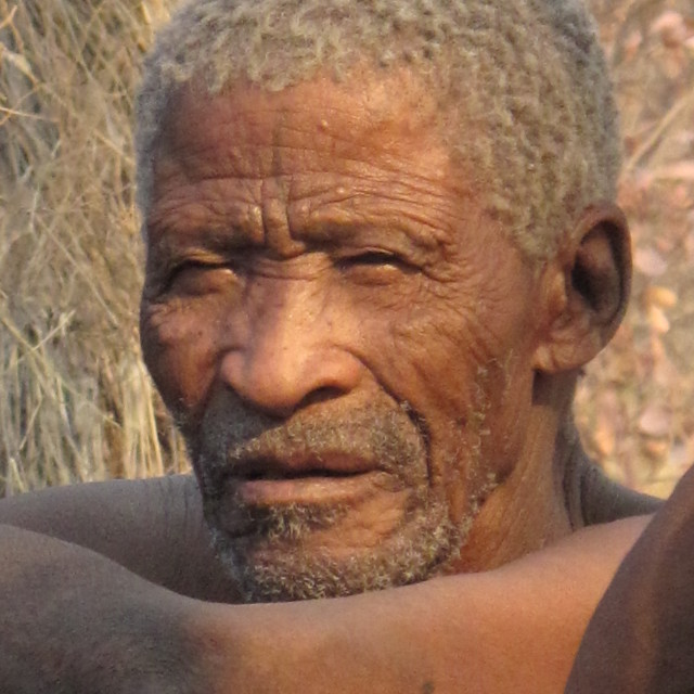 """Masai wise old man"" stock image"
