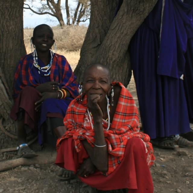 """Masai Women"" stock image"