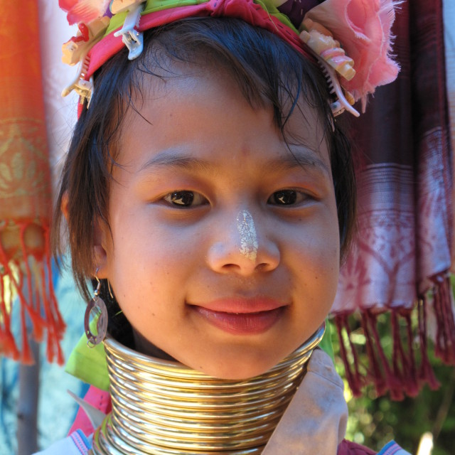 """Thai girl"" stock image"